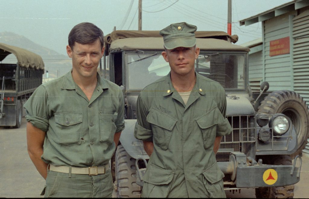 Soldiers with Jeep